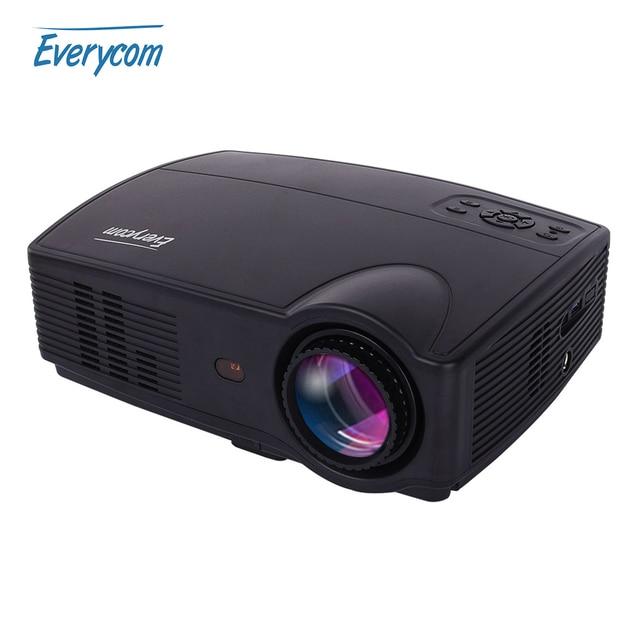 Fastfox Hd Projector Full Color 720p 3000 Lumens Analog Tv: Aliexpress.com : Buy Everycom X9 LED HD Projector 3500