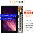 Оригинальный для Asus MeMo Pad Smart ME301 ME301T K001 TF301T ЖК-дисплей Экран Дисплей сенсорный экран планшета с рамкой T01 5280N <font><b>FPC</b></font>-1 8 V