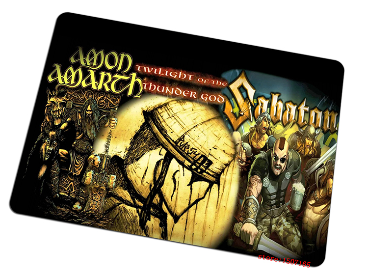 sabaton mouse pad Cartoon gaming mousepad Gorgeous gamer mouse mat pad game computer desk padmouse keyboard large play mats