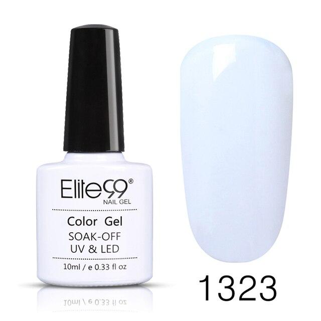 Elite99 Gel Polnisch Weiß Maniküre Primer Gel Lack Tränken Weg Vom UV LED Gel Nagellack Basis Mantel Keine Wischen Top farbe Gel Polnisch