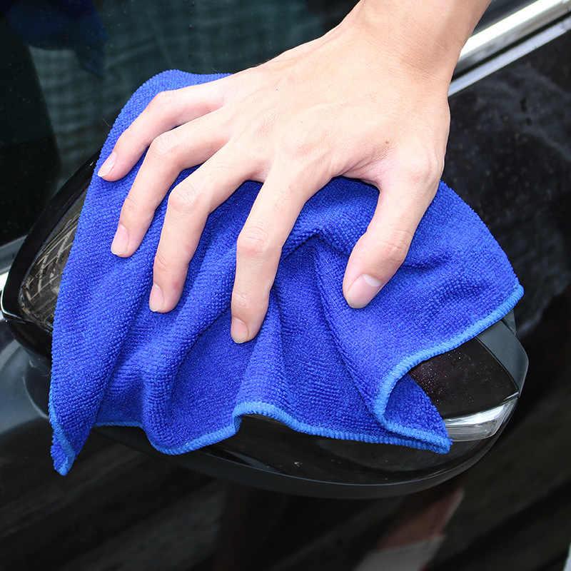 5 pçs moto rcycle pano de limpeza do carro pequeno cabelo curto toalha de limpeza 30*30cm grosso macio terry pano para carro moto