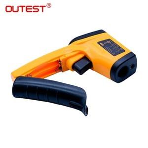 Image 3 - Digitale Infrarood Thermometer Themperature Pyrometer Ir Laser Point Gun Non Contact 330 Graden GM320