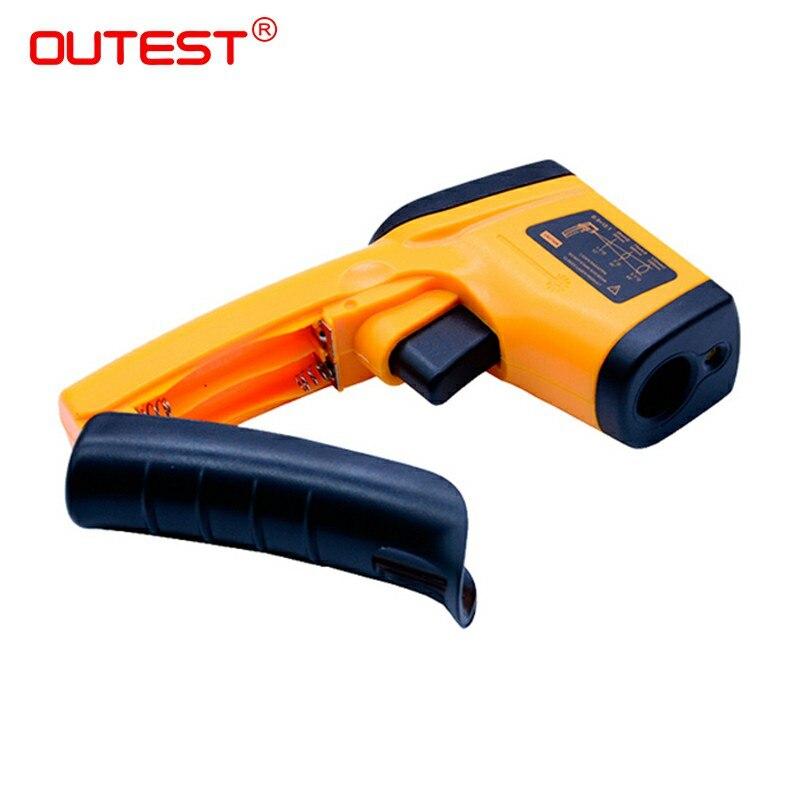 Image 3 - Цифровой инфракрасный термометр с темами пирометр IR лазерный  точечный Пистолет Бесконтактный 330 градусов GM320thermometer  kitchenthermometerthermometer ear -