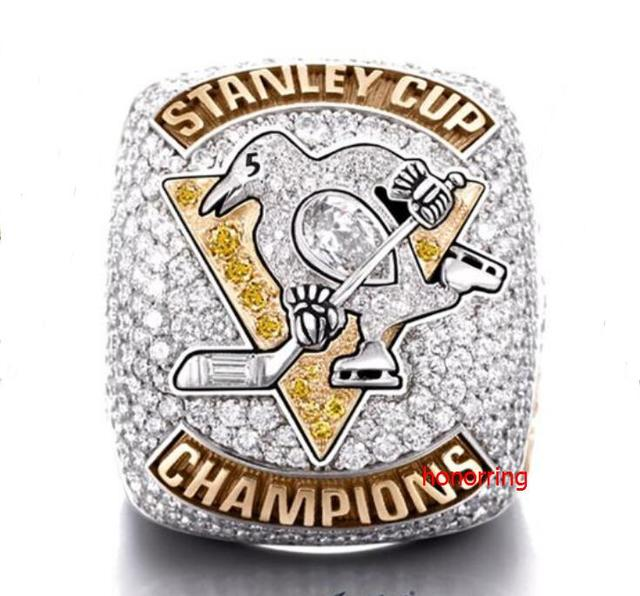 Real Photo 2017 Pittsburgh Penguins Hockey Stanley Cup