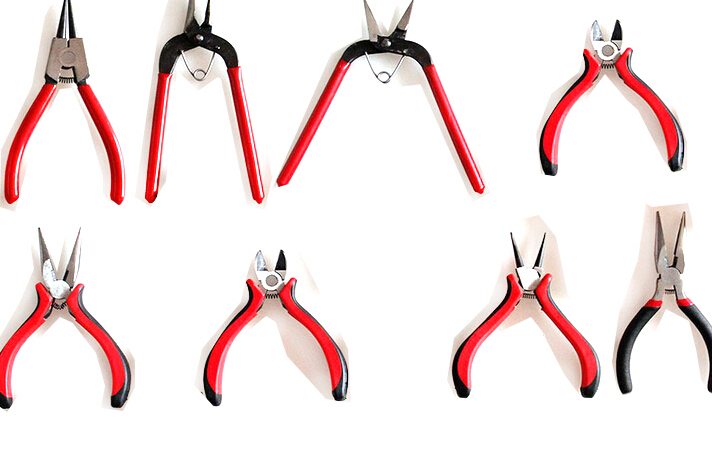 8pcs/set Black Metal Mini Jewellery Jewelry Plier Cutter Chain Round Bent Nose Beading Making Repair Tool Kit newest 8pcs set jewelry pliers needle round bent nose beading making diy craft tool kit high quality