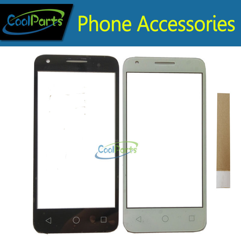 1PC/Lot 4.5'For Alcatel PIXI 3 4.5 OT5017D OT5017X 5017 5017D 5017X OT-5017 OT5017 Touch Screen Digitizer Glass Sensor With Tape