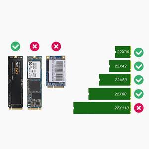 Image 3 - USB 3.1 Tip c NGFF M.2 Anahtar M sabit disk Sabit Disk Kutusu NGFF PCIE Adaptörü Dönüştürücü Kartı muhafaza Kutusu WinXP/Vista/Win7