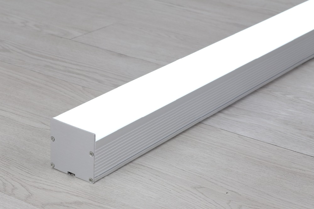 Free Shipping Commercial 3000 6000K 40W 50W 60W led pendant lighting aluminium led wall light 1.2m 1.5m 1.8m