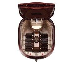 Ног ванна автоматический массажер подошвенный для ванной глубокий баррель для ног Подогрев массаж замачивания бассейна Педикюр оборудова