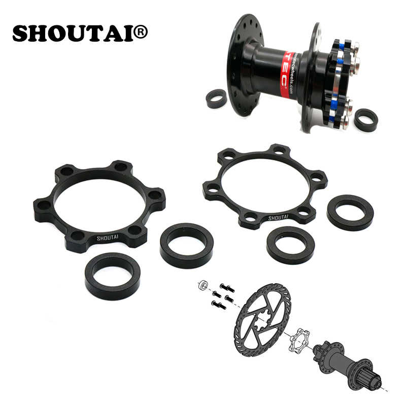 CNC Aluminum Bike Rear Hub Adapter 12mmx142mm to 148mm Boost Fork Conversion Kit