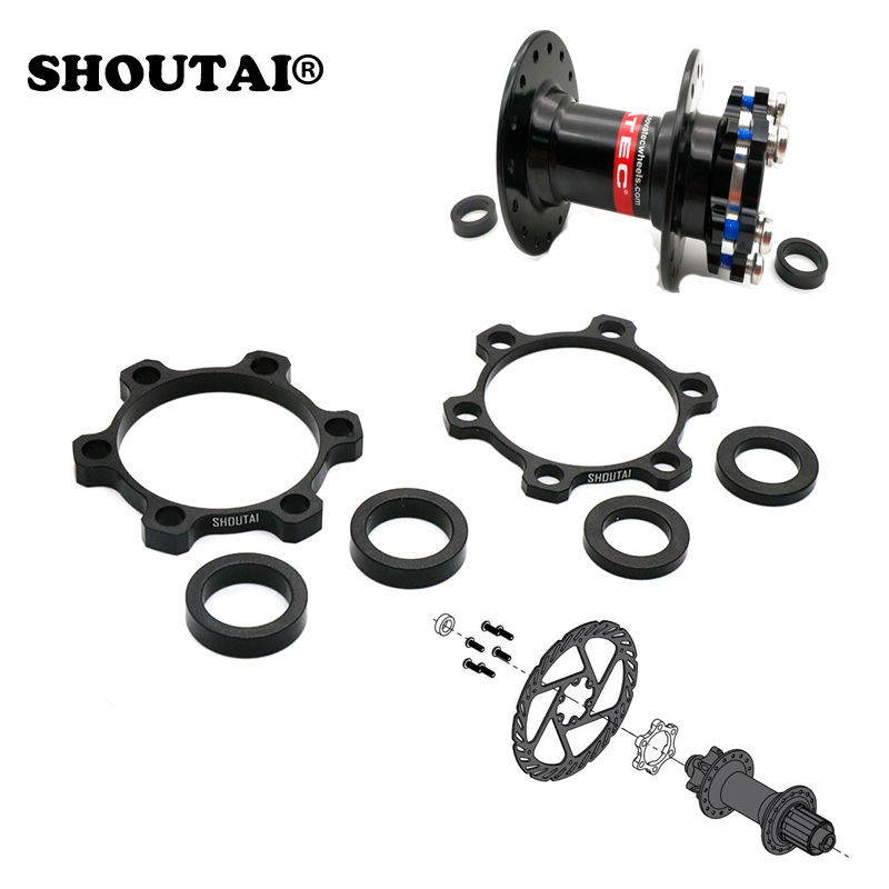 SHOUTAI Bike Hub Adapter Front 100MM Conversion 110MM Rear Hub 142MM to 148MM For Bicycle Boost Spacing Hub Fork Conversion Kit(China)