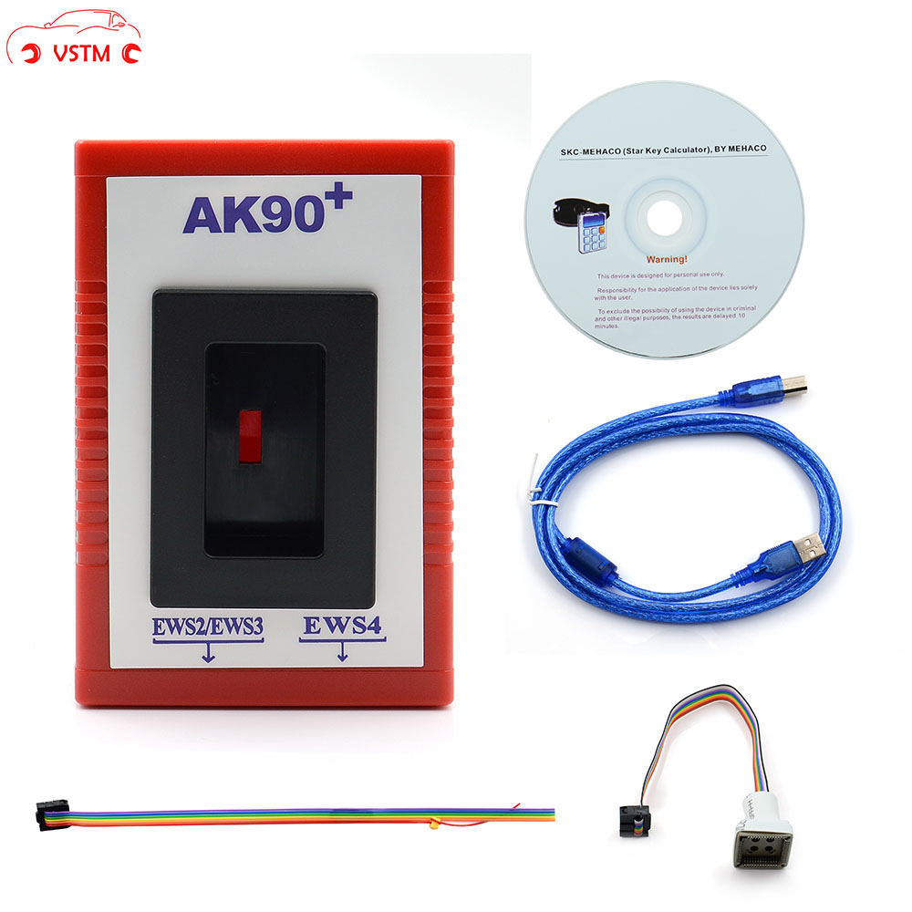 AK90 For BMW Auto Key Programmer For BMW EWS From 1995-2009 V3.19 AK90+ Programming Tool