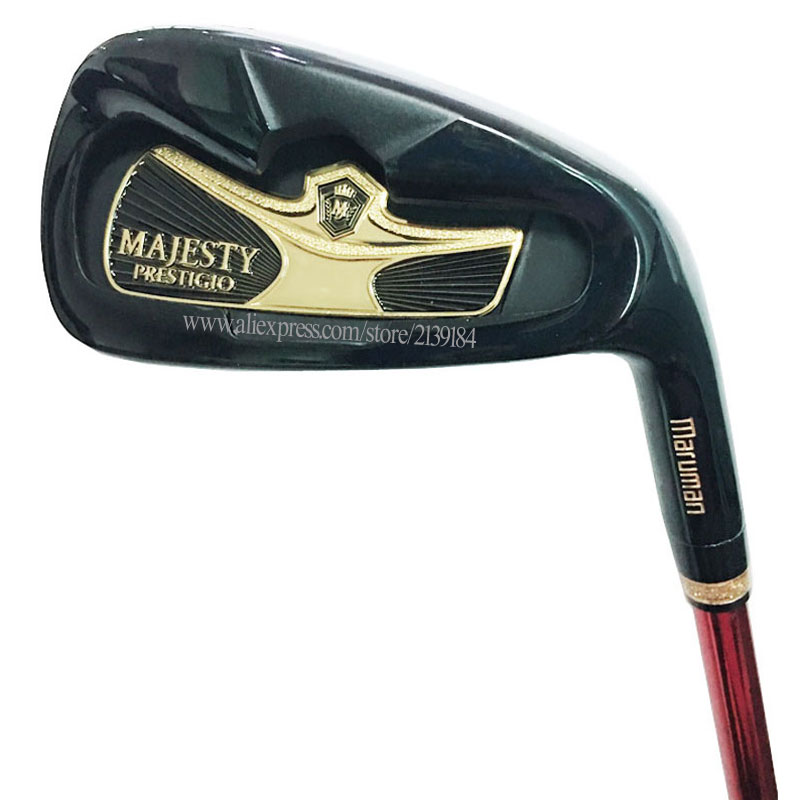 Mew Golf Clubs Maruman Majesty Prestigio 9 Golf Irons 5-910PAS Irons Set Graphite Shaft R Or S Golf Shaft Cooyute  Free Shipping