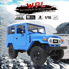 HIINST 1:16 WPL C34 KIT Off-road Remote Control Truck Buggy Crawler Stabel RC Car Toys Popular DIY 19MAY27 P20(China)
