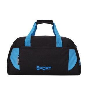 Image 3 - 뜨거운 스포츠 가방 훈련 체육관 가방 남성 여성 피트니스 내구성 다기능 핸드백 야외 스포츠 어깨 가방