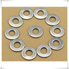 M3 M4 M5 NFE25-511 Stainless Steel 304 Conical Knurled Spring Contact Washer 500pcs/lot