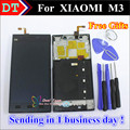 High Quality Repair Parts For Xiaomi 3 M3 Mi3 LCD Display And Touch Screen Digitizer Replacement Cellphone With Frame