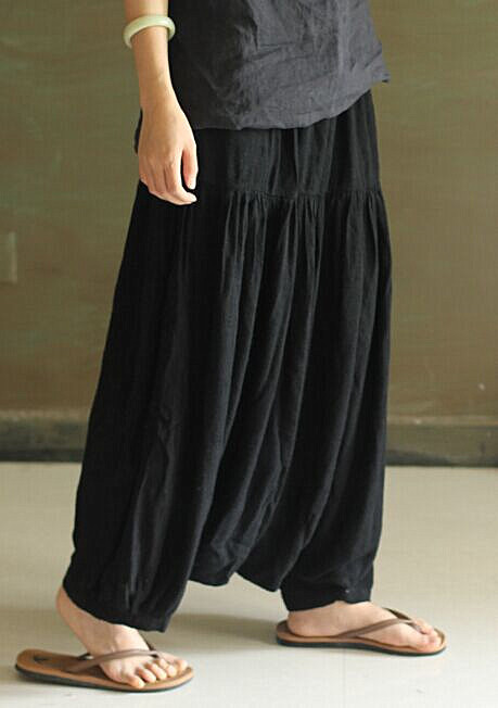 Popular Linen Capri Pants-Buy Cheap Linen Capri Pants lots from ...