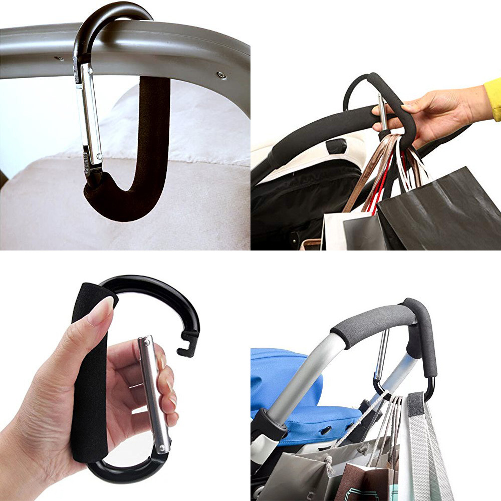 Hooks Keychain Carabiner-Snap Spring-Clips-Hook Travel-Kits Camping-Accessories Survival title=