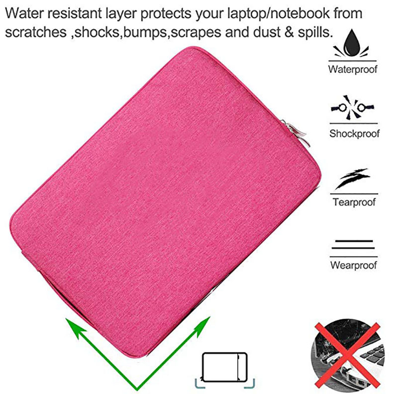 "Image 5 - Unisex Liner Laptop Sleeve Notebook Bag Case for ASUS ZenBook UX330UA 13.3 VivoBook 15.6 Thinkpad 14 12.5"" 11.6inch Computer Bag-in Laptop Bags & Cases from Computer & Office"