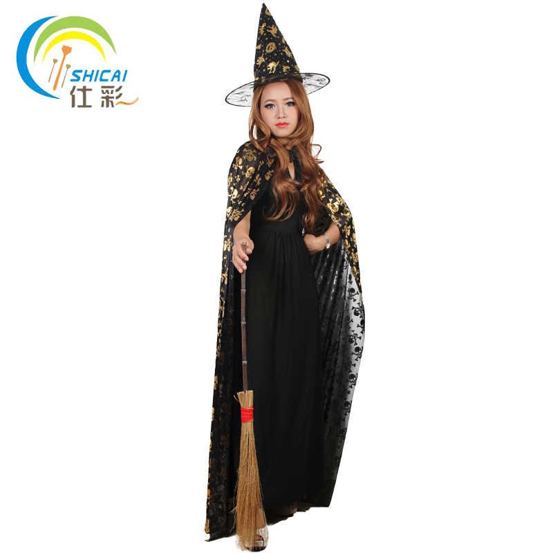 O Envio gratuito de Harry Potter Voando vassoura vassoura de Bruxa Halloween party props handmade Puro/Longo cerca de 100 cm