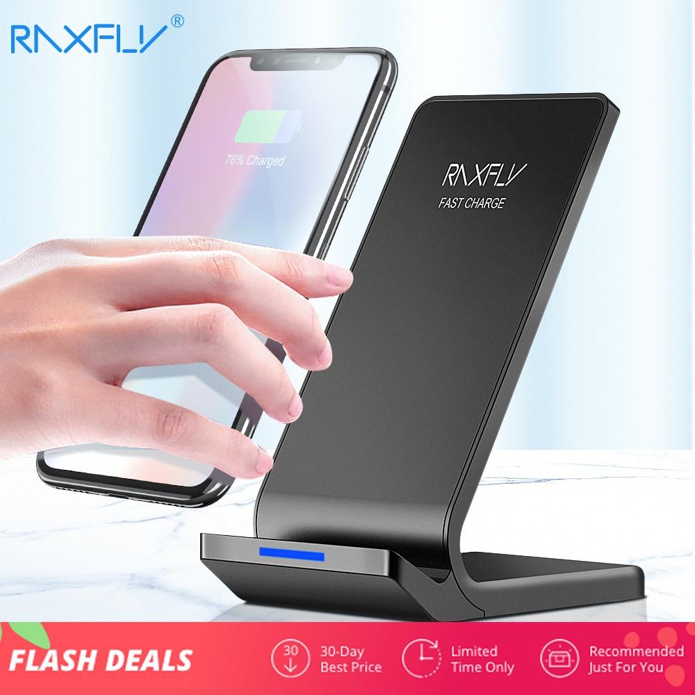 Humor Raxfly 10 W Drahtlose Ladegerät Für Iphone Xs Max Xr X 8 Plus Schnelle Lade Für Samsung S9 S8 Plus Hinweis 9 8 Telefon Drahtlose Ladegerät