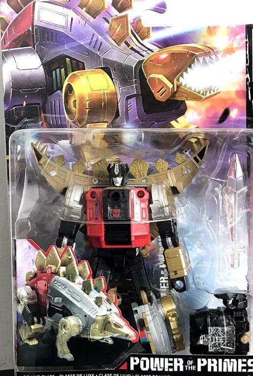 HASBRO Power of Prime Grimlock Slug Swoop Sludge Snarl Slash Dinobot Transformer