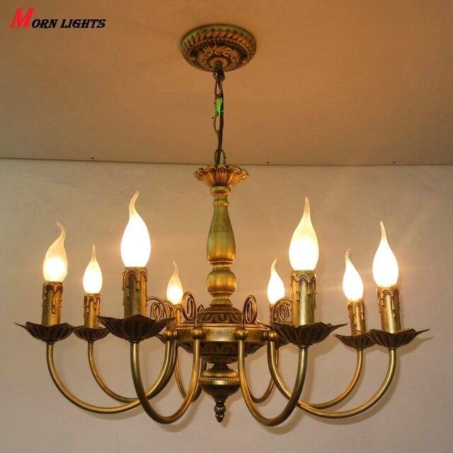 Hochwertig Free Verschiffen Antike Eisen Kronleuchter Eisen Kronleuchter Bronze Licht  Wohnzimmer Schlafzimmer Lampe Eisen Kronleuchter Licht
