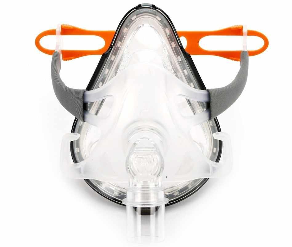 Doctodd F1A Tam Yüz Maskesi Tüm Markalar için CPAP Otomatik CPAP BiPAP Makineleri Solunum Ventilatör W/Başlık S M L Boyutları Seçeneği için