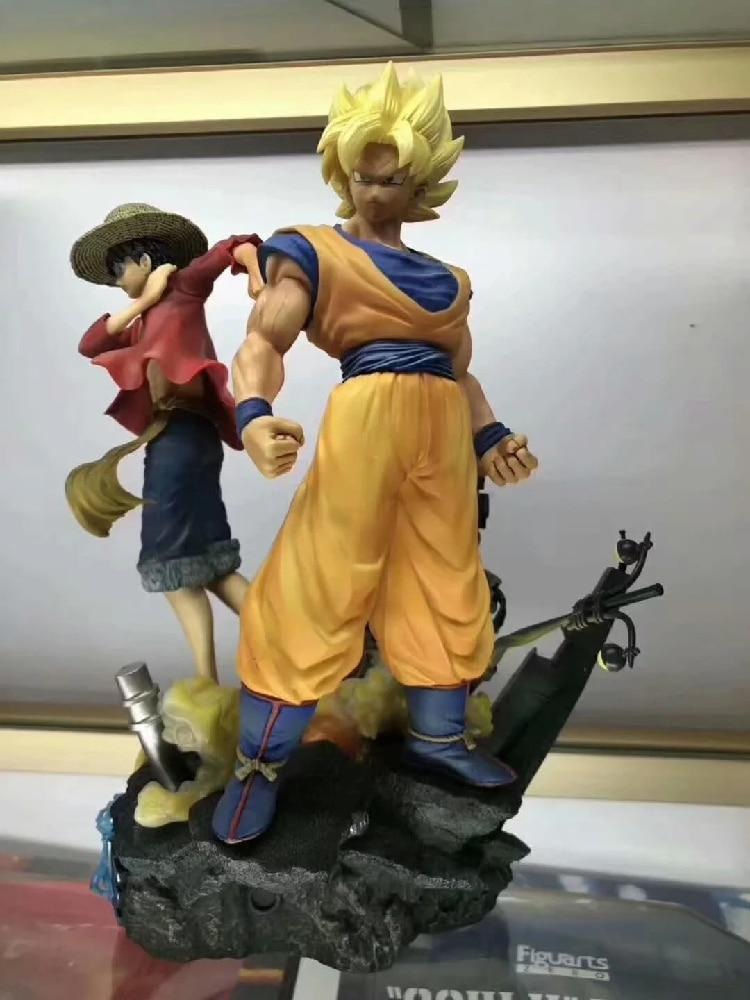 Jeu animé saut FORCE Statue Dragon Ball Son Goku une pièce Luffy Uzumaki Naruto 7