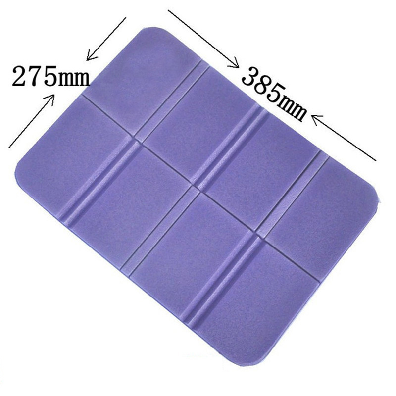 8 Folder Camping Mat Folding Portable Small Cushion Moisture Proof Waterproof Prevent Dirty Picnic Mat Beach Pad in Camping Mat from Sports Entertainment
