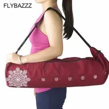 Yoga Mat Sling Carrier Shoulder Carry Strap Belt Canvas and Mesh Carry Bag