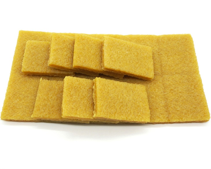 5 PCS High Quality Yellow Handmade Leather Accessories DIY Tool Decontamination Imported Natural Rubber Sheet