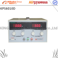 KPS6010D High precision High Power Adjustable LED Display Switching DC power supply 220V 0 60V/0 10A For Laboratory and teaching