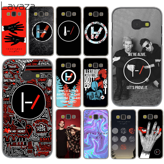 innovative design 6537a 10189 US $2.55 |Lavaza Twenty One Pilots 21 Pilots Phone Case for Samsung Galaxy  A6 A8 Plus A7 A9 2018 A3 A5 2017 2016 2015 Note 9 8 Cover-in Half-wrapped  ...