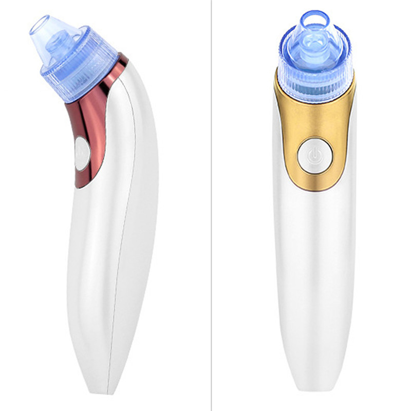 1Pcs Blackhead Vacuum Suction Pore Cleaner Pimple Ance Extractor Face Massager Skin Care Facial Deep Cleansing Machine 2017 Hot 1 pcs electric facial cleanser deep cleansing skin care blackhead removal washing brush massager face body exfoliator scrub