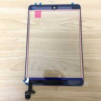 NEW Original Tested Touch Glass For Ipad Mini 1 2 Touch Screen Digitizer With IC Black