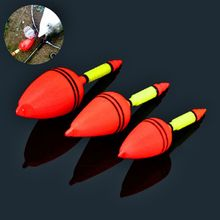 5pcs/Lot Fishing Night Float Fishing Tackle Tools Big Belly Plastic Charms Bobber Float Sea Fishing Float Fishing Buoys