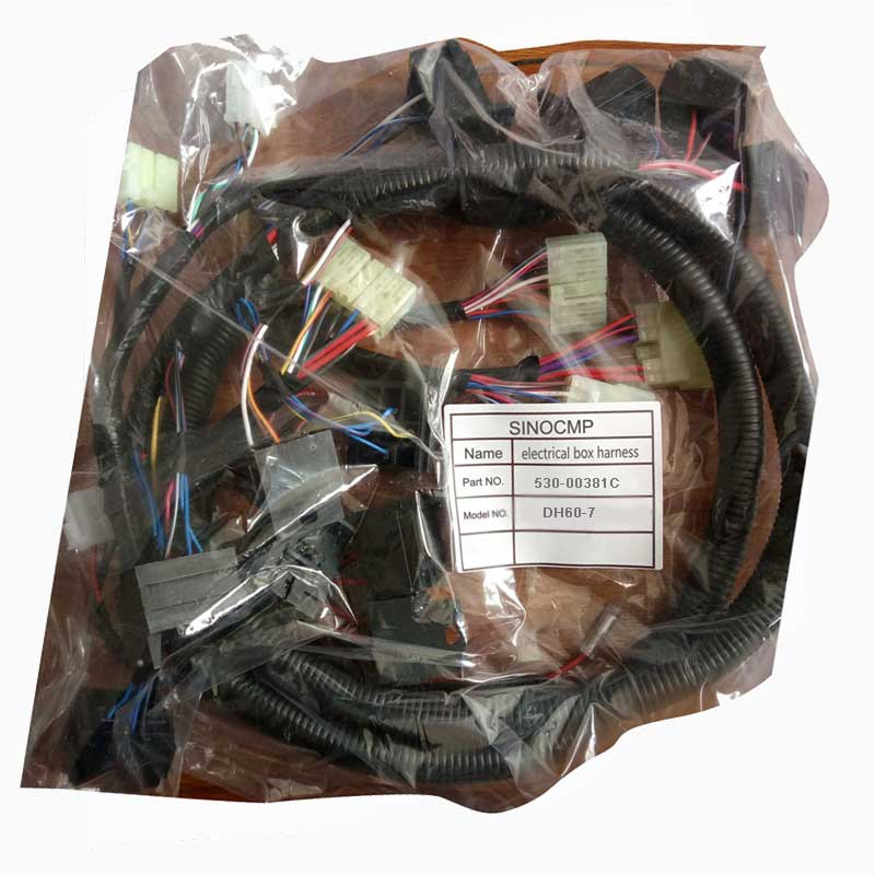 Electric Box Wiring Harness 530 00381C For Daewoo DH60 7