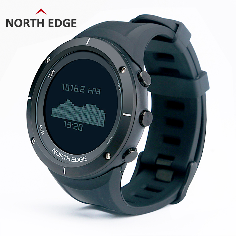 Smart watches Men outdoor sports watch waterproof 50m fishing Altimeter Barometer Thermometer Compass Altitude hours NORTH EDGE north edge men sports watch altimeter barometer compass thermometer weather forecast watches digital running climbing wristwatch