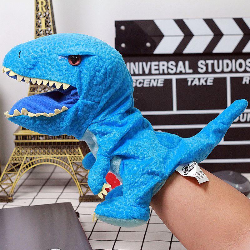 Plush dinosaur puppets stuffed plush toys Hand puppet