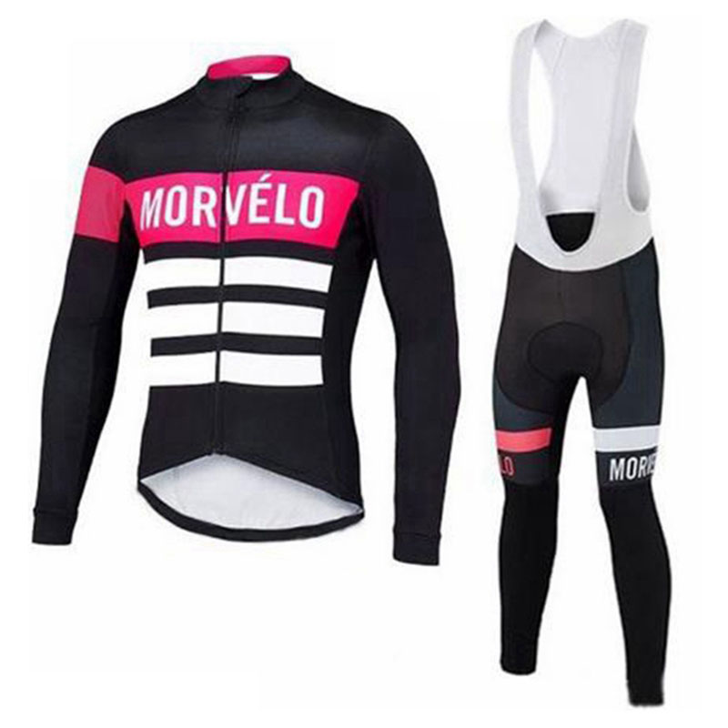 Cycling Sets Men Cycling Jersey 2019 Pro Team Long Sleeve Shirt Bib Pants Suit Breathable Quick Dry Road Bike Clothing Mtb Bicycle Wear Y4033