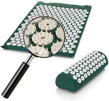 Multi – functional acupuncture massage yoga Mat Pain Relief muscle back neck relaxation massage yoga cushion with massage pillow