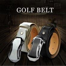 Гольф-кожа бренд-дизайн ремня логотип пряжки пояса пояс гольф мужские цвет с