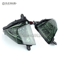 For KAWASAKI ZX6R ZX10R Z750 Z1000 NINJA 650R ER6N ER6F Front LED Turn Signal Indicator Light Motorcycle Accessories Light