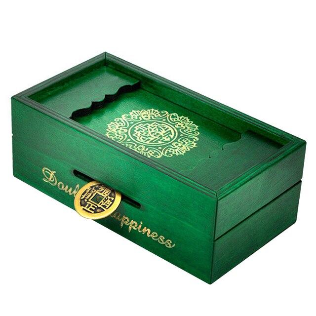 Creative Wooden Caja Puzzle Box Secret Trick Intelligence Compartment Magic Money Gift Case Brain Teaser Logic Educational ToysPuzzles & Games