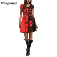 Wansheng Festival 2017 Hot Sale Summer Party Dress Red Black White Ruffles Patchwork Off The Shoulder