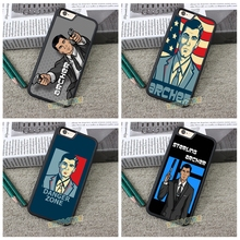 Sterling Арчер Мода сотовый телефон чехол для iPhone 4 4S 5 5S 5C SE 6 Plus 6S плюс 7 7 Plus # AA45