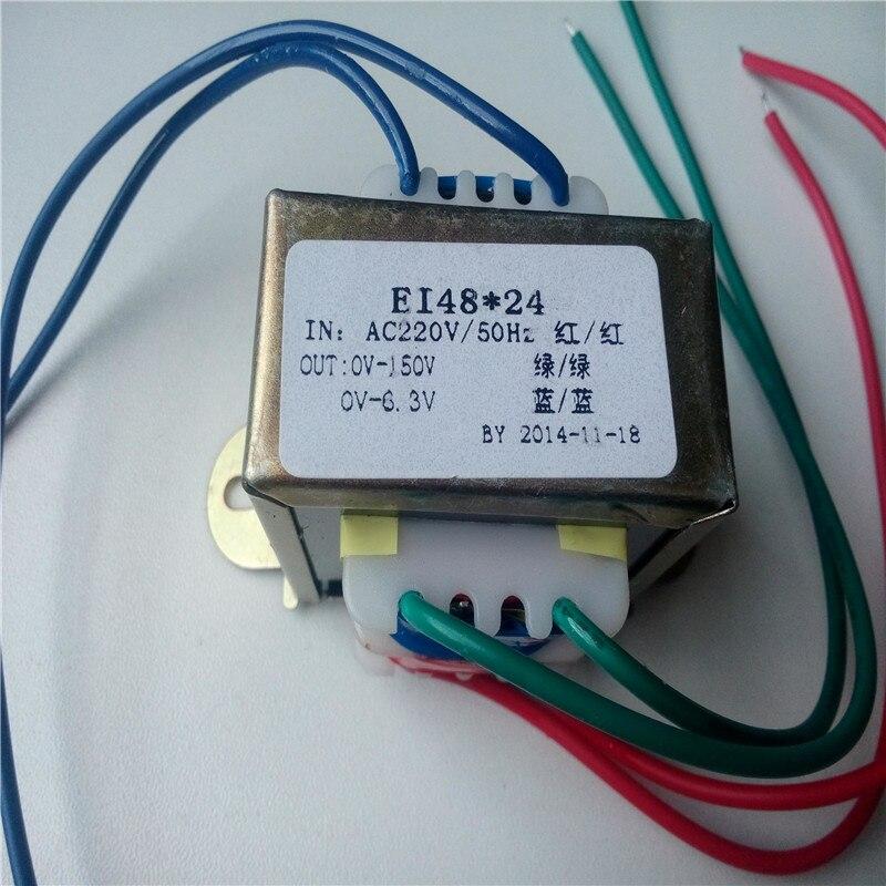 150V+6.5V transformer 10VA 220V input for 6N3 tube preamp transformer150V+6.5V transformer 10VA 220V input for 6N3 tube preamp transformer