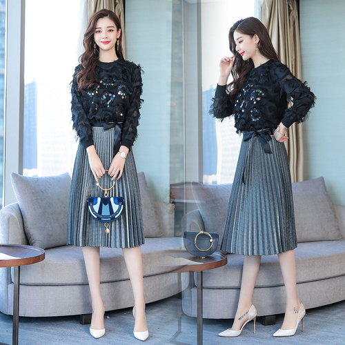 Detail Feedback Questions about Stylish Crop Top And Skirt Set 2 Piece Set  Women Trendy Ensemble Femme Deux Pieces Conjunto Feminino Year old Female  Costume ... 612076be3343
